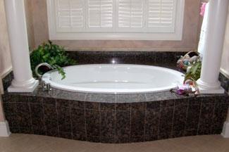 Tile Bath And Shower Natural Stone San Diego California