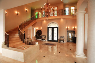Marble Floors and Stairs