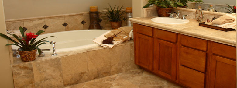 Travertine Tiles, Floors, Counterstops, Kitchen and Bath - San